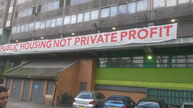 stolen banner